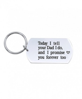 Today Tell Promise Forever Keychain - Grey - CY185RNIO3E