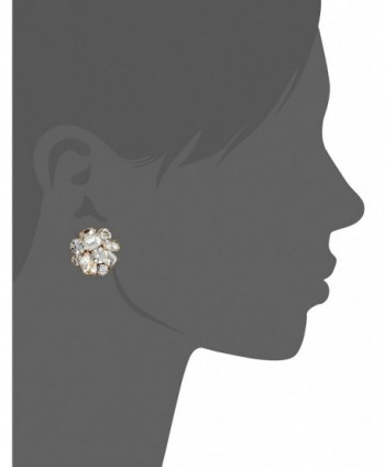 kate spade Cluster Clear Earrings