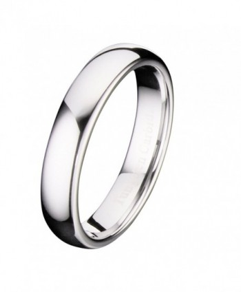 MJ Polished Comfort Tungsten Carbide