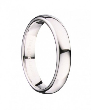 MJ Polished Comfort Tungsten Carbide in Women's Wedding & Engagement Rings