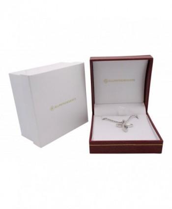 Openly Sterling Silver Zirconia Necklace in Women's Pendants