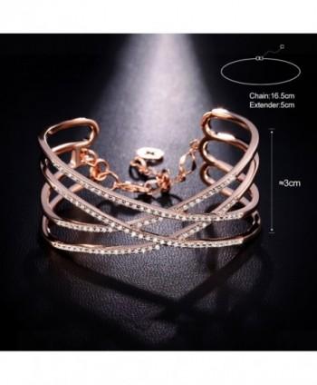 SPILOVE Serend Zirconia Bracelet Jewelry in Women's Cuff Bracelets