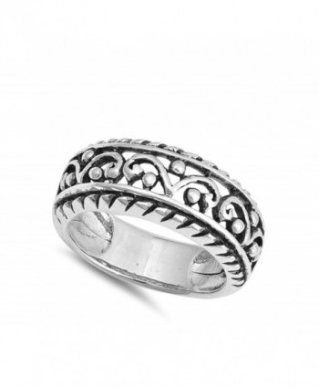 Filigree Statement Sterling Silver RNG17387 8
