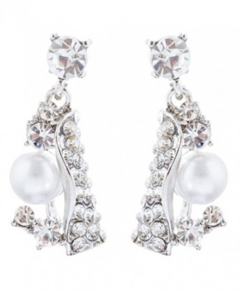 ACCESSORIESFOREVER Bridal Wedding Jewelry Crystal