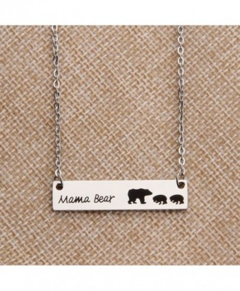 KUIYAI Family Necklace Mothers children in Women's Pendants