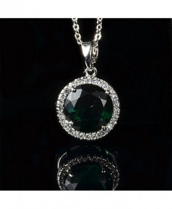 Simulated Zirconia Austrian Crystals Necklace