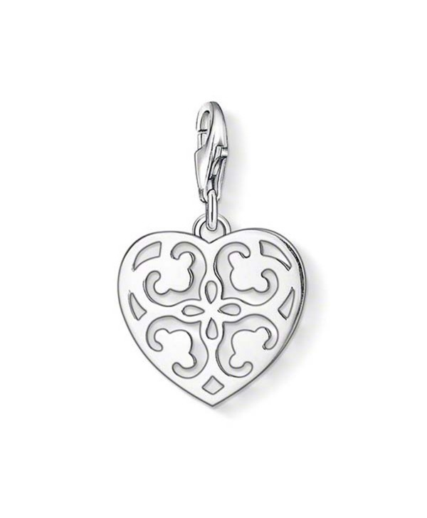 Thomas Sabo Heart Charm- Sterling Silver - CR11KPPI1PN