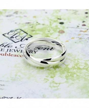 Sterling Russian Wedding Trinity Interlocking