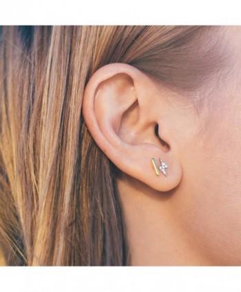 PAVOI Gold Plated Mini Earrings in Women's Stud Earrings