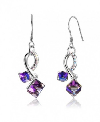 Swarovski Element Earrings Crystals Valentines - CN12OBTLTNC