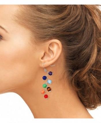 Jauxin Chakra Stanless Healing Earrings