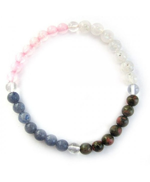 Gemstone Energy Meditation Bracelet - PREGNANCY - CE1169GUL37