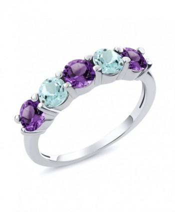 Aquamarine Amethyst Sterling Gemstone Available - C311D0EN8VD