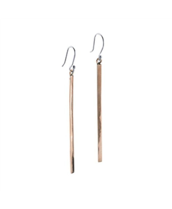 "Copper Bar Earrings 3"" - CB12999DZIN"
