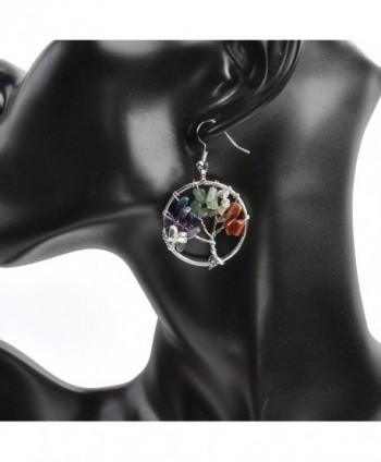 JOVIVI Copper Gemstone Crystal Earrings in Women's Drop & Dangle Earrings