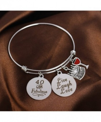 Birthday Bangles Charms Bangle Bracelets in Women's Bangle Bracelets