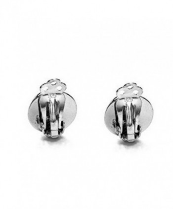 Sterling Silver Shiny Round Earrings