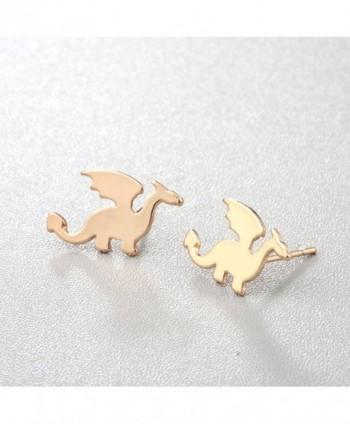 Alloy Cute Cartilage Dinosaur Earrings in Women's Stud Earrings