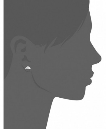 Disney Sterling Silver Princess Earrings