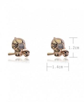 Pirates Caribbean One eyed Earrings 02001938 1 in Women's Stud Earrings