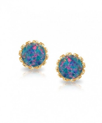Bling Jewelry Simulated earrings Plated in Women's Stud Earrings