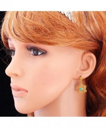 U7 Turquoise Earrings Necklace Bracelet