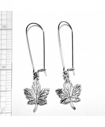 Sabai NYC Silvertone Canadian Earrings