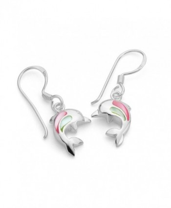 Sterling Silver Dolphin Porpose Earrings