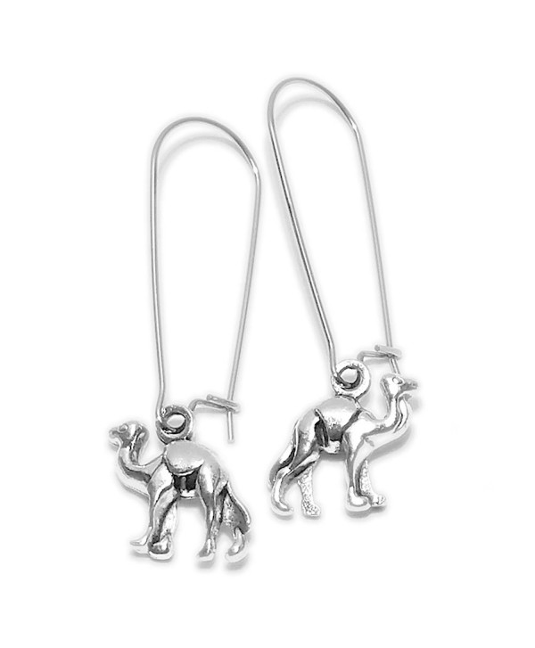 Sabai NYC Hump Day Camel Charm Earrings on Stainless Steel Ear Wires - CS12NUKT291