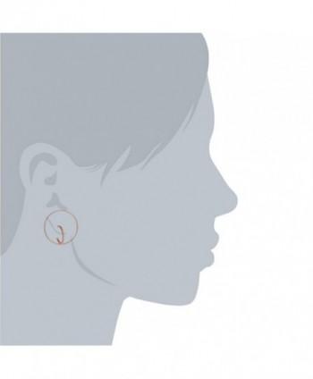Jane Stone Geometric Earrings E0634 Rose
