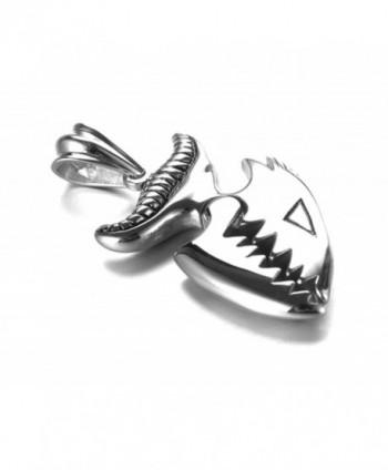 Jenhianeck Titanium Piranha Pendant Necklace