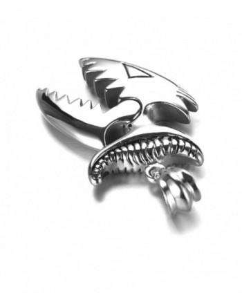 Jenhianeck Titanium Piranha Pendant Necklace in Women's Pendants