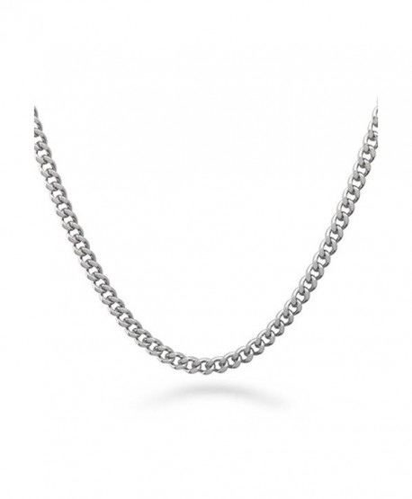 Ben Junot USA Curb 4.8 MM link Chain Necklace - Stainless steel 316L - C811KU4MA5P