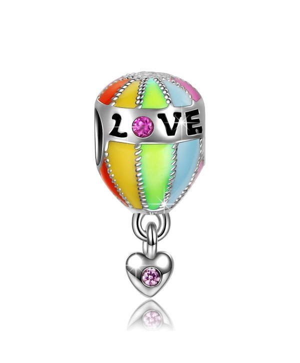 "NinaQueen ""Hot Air Balloon Trip"" 925 Sterling Silver Bead Charms - CQ11Y257CRF"