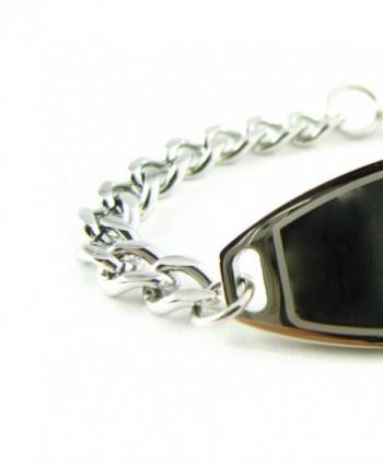 MyIDDr Pre Engraved Customized Coumadin Bracelet in Women's ID Bracelets