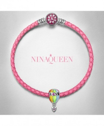 NinaQueen Sterling Bracelet Christmas Anniversary in Women's Charms & Charm Bracelets
