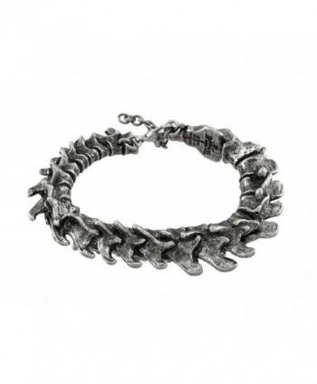 Vertebrae Alchemy Gothic Spine Bracelet - C512CI7MU0R
