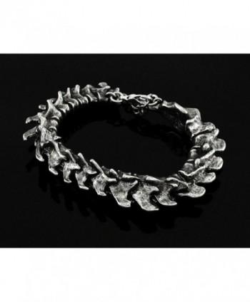 Vertebrae Alchemy Gothic Spine Bracelet in Women's Link Bracelets
