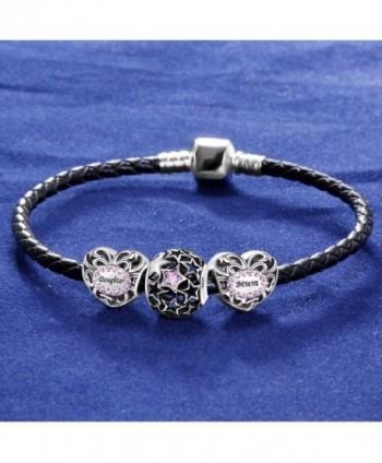 ANGEMIEL Sterling Silver European Bracelets