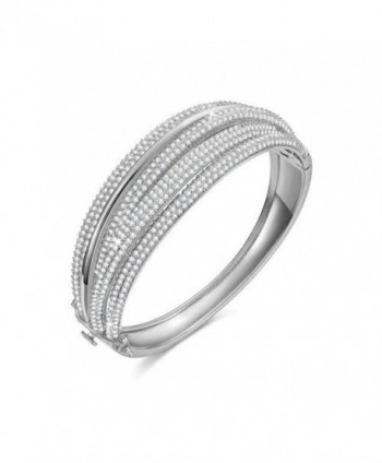 SPILOVE Serend Diamond Wedding Bracelets - white - CS182KYEIH2