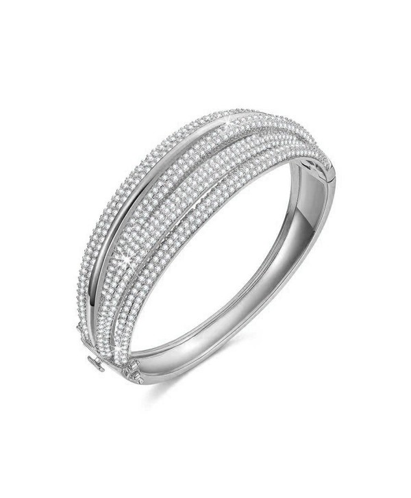 SPILOVE Serend Diamond Wedding Bracelets - white - CS182KYEIH2