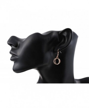 Mothers Valentine Plated Dangle Earrings