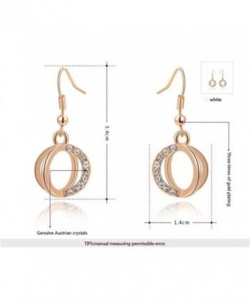 Mothers Valentine Plated Dangle Earrings in Women's Drop & Dangle Earrings
