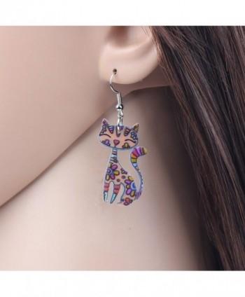 Bonsny Sitting Earrings Acrylic Pattern