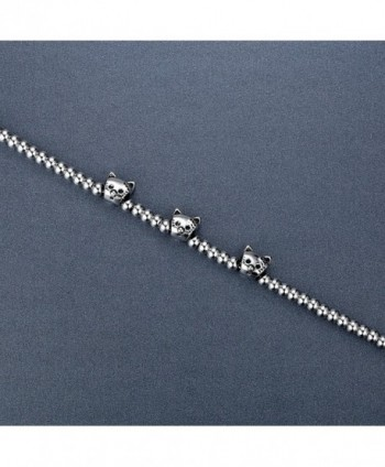 Stainless Steel Beads Bracelet aab026 in Women's Strand Bracelets