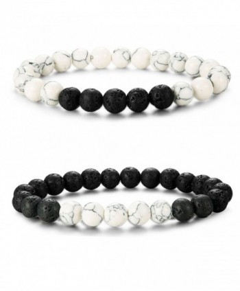 LOYALLOOK Matching Bracelets Natural Bracelet - CQ1867AGTNS