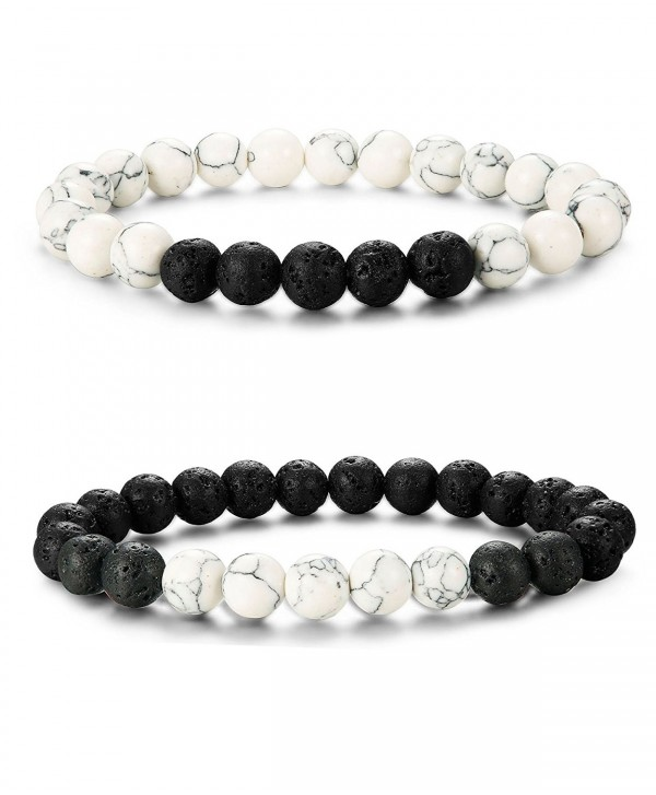 LOYALLOOK Matching Bracelets Natural Bracelet - CQ1867AGTNS