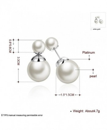 Jwoolw Double Fashion Elegant Earrings