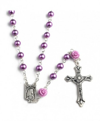 Hedi Purple Color Rosary Facther