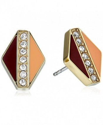 Fossil Glitz Stud Earrings - C0125VLZCXJ
